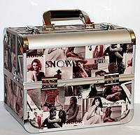 Кейс для косметики с выдвигающимися полочками. Расцветка Movie