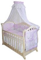 Детский постельный комплект Twins Comfort С-033 Котята, розовый
