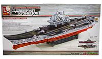 "Конструктор SLUBAN ""Авианосец Адмирал Кузнецов"" M38-B0388, 1875 дет, фото 1"