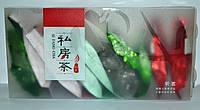 Набор Эксклюзив Guang Fu зеленый+черный 6 видов 24 шт по 10г