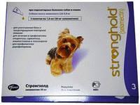 Капли СТРОНГХОЛД 30 для собак 2,5-5 кг (фиолетовый) №3