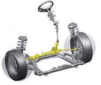 Рулевое управление, полуоси
