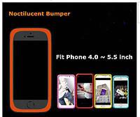 Бампер для Мобильных Телефонов, желтый 4.0 ~ 5.5 дюймов, универсальный силиконовый.