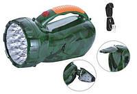 Фонарь переносной светодиодный Yajia YJ-2807, мощный аккумуляторный фонарь