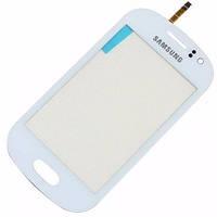 Сенсорный экран Samsung S6810 (Galaxy Fame) (белый)