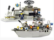 """Конструктор SLUBAN """"Военно-морская серия"""" 449 дет, 620256/M38 B 0122 R"""