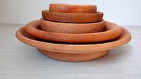 Деревянная посуда, набор посуды из дерева
