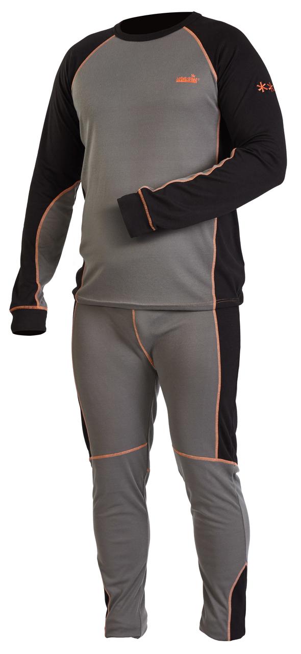Термобелье мужское Norfin Comfort Line Gray (301900), комплект термобелья