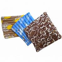 Сидушка-подушка из гречневой шелухи Лотос, 45x45 см (сатин)