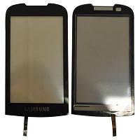 Сенсорный экран Samsung S5560 (черный)