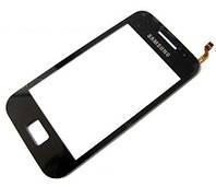 Сенсорный экран Samsung S5830 (Galaxy Ace) BIG IC (черный)