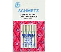 Иглы SCHMETZ Quilting для стежки  3x №75, 2x №90