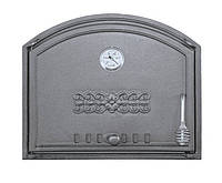 Дверка для хлебной печи с термометром (48,5х41 см/43,5х36,5 см)