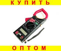 Мультиметр + токоизмерительные клещи DT266FT + ПОДАРОК: Наушники для Apple iPhone 5 -- БЕЛЫЕ MDR IP