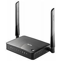Роутер ZyXEL KEENETIC III Wi-Fi 802.11 g/n 300Mb, 4 LAN RJ-45, WLN-1, USB2.0, несъемные антенны - 2шт 2.4GHz