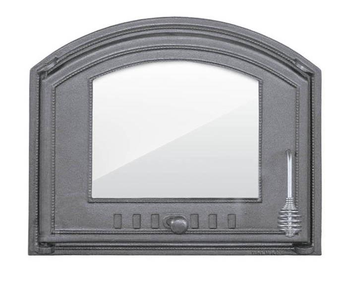 Дверка для хлебной печи со стеклом (48,5х41 см/43,5х36,5 см)