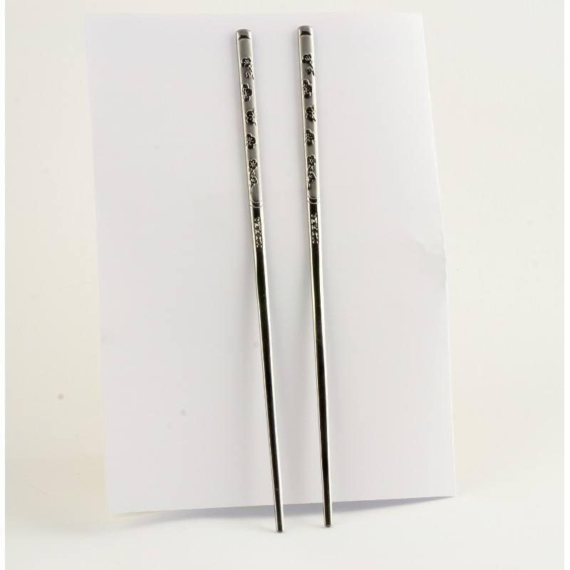 Металеві палички для їжі «Сакура»