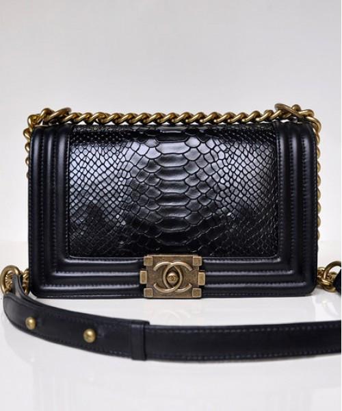 Женская сумка CHANEL BOY PYTHON (9650) - Интернет-магазин VipSymki в Киеве 1e5a4eeb2fe