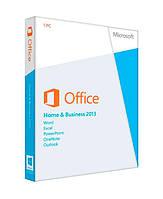 Программное обеспечение MS Office 2013 Home and Business 32-bit/x64 Украинский DVD BOX (T5D-01783)