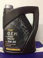 Оригинальное моторное масло MANNOL O.E.M. for Ford Volvo API SM/CF 4л
