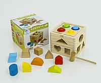 Сортер игрушка деревянная