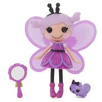 "Кукла 543916 MINILALALOOPSY серии ""Волшебные крылья"" - БАБОЧКА (с аксессуарами)"