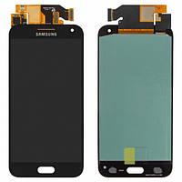 Дисплей для Samsung E500H/DS Galaxy E5 + с сенсором (тачскрином) Black