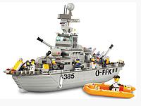 Конструктор Sluban M 38 B 0126 Военный корабль, 577 дет