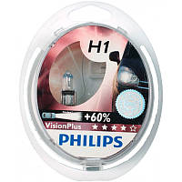 Галогенная лампа Philips H1 +60% VisionPlus 12V 55W