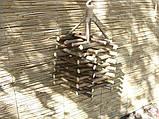 Декоративный светильник из натуральных материалов, фото 3