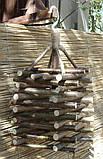 Декоративный светильник из натуральных материалов, фото 7