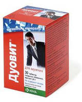 Дуовит для мужчин 30 таблеток во флаконе Duovit  (Словения)