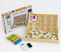 Набор деревянный Считалочка палочки и цифры