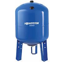 Бак для насосной станции на 100 литров. Гидроаккумулятор  AquaSystem VAV 100 (вертикальный)