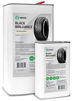 """Полироль для шин """"Black Brilliance"""" на силиконовой основе, Grass, арт.152250"""
