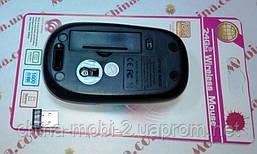 Мышь оптическая беспроводная в стиле rapoo black, фото 3