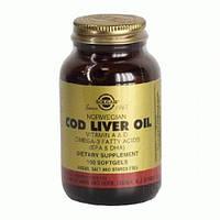 Жир из печени трески (Cod Liver Oil) Солгар №100