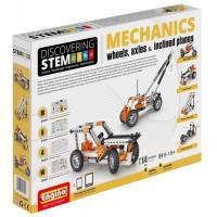 Конструктор Engino Stem Механика Колеса, оси и наклонные плоскости (STEM02)