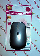 Миша оптична безпровідна в стилі rapoo, grey, фото 3