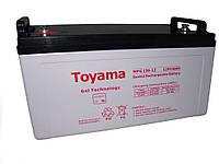 Гелевая аккумуляторная батарея Toyama 130Ah 12V