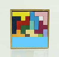 Игра из дерева Тетрис в коробке