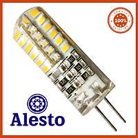 Светодиодная лампа G4 3Вт 12В 48Д Alesto 3000К, 6000К