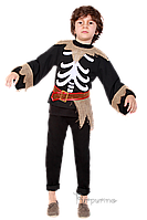 Детский карнавальный костюм СКЕЛЕТ код 2073