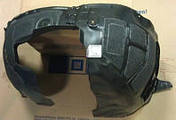 Подкрылок передний левый (внутренняя облицовка передней колёсной коробки) GM 1101103 1101092 6101356 6101358 1101067 13241156 13276009 22830361 OPEL