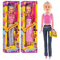 Большая кукла для девочек Анжелика A 1750 RU/A 328, 75 см, ходит, поет, светятся сережки, 3 вида