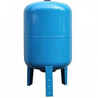 Бак для насосной станции на 100 литров. Гидроаккумулятор  Hidroferra STV 100 (вертикальный)