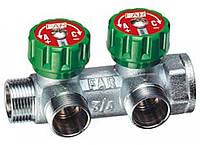 Коллектор FAR  регулирующий НР-ВР, проходной с 2 отводами 3825