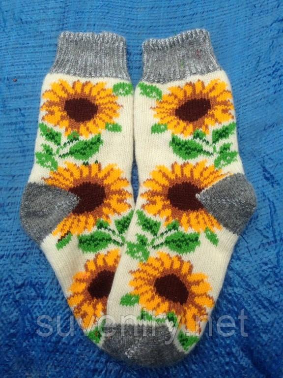 Женские ангоровые шерстяные носки