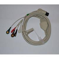 Кабель ЭКГ 5-ти канальный, HEACO