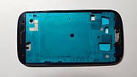 Рамка дисплея  Samsung I9300, Galaxy S3 синяя original.